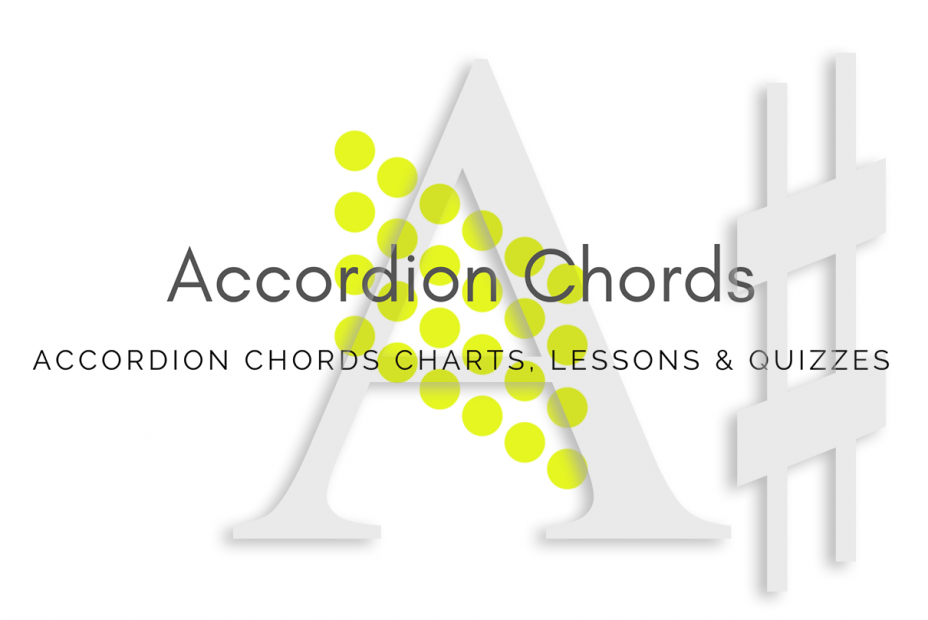 Root - All accordion chords in A# key