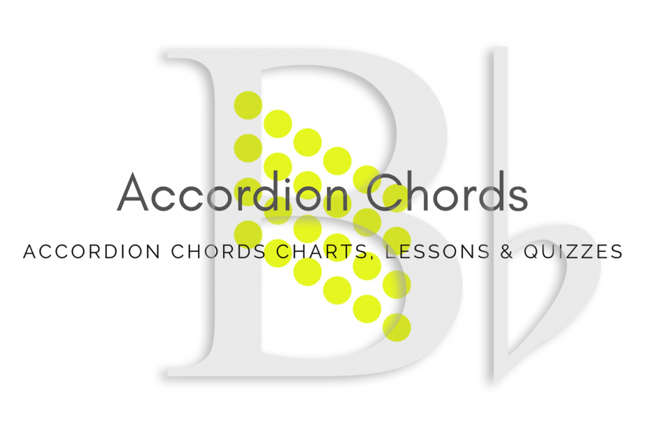 Root - All accordion chords in Bb key