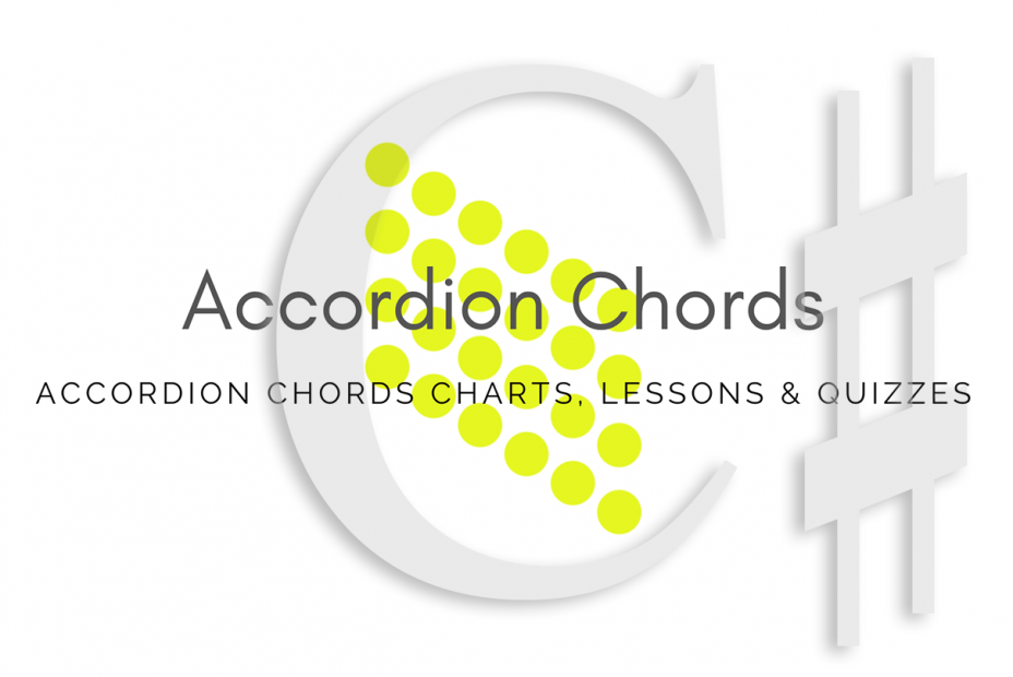 Root - All accordion chords in C# key