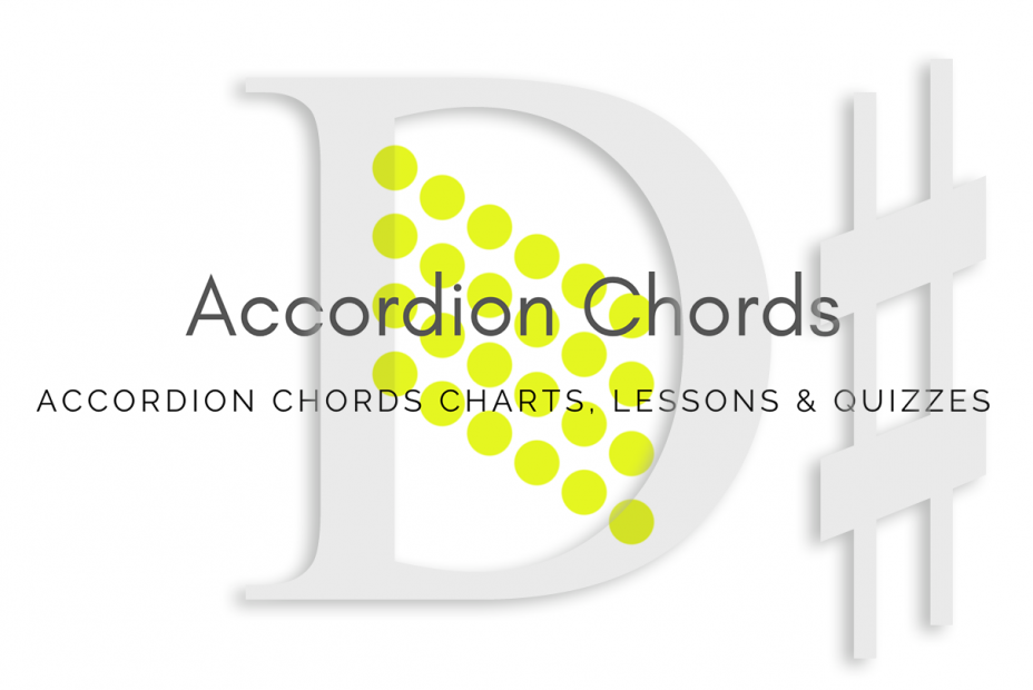 Root - All accordion chords in D# key