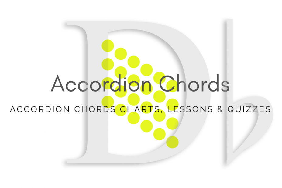 Root - All accordion chords in Db key