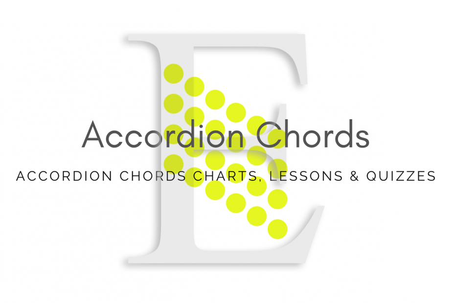 Root - All accordion chords in E key