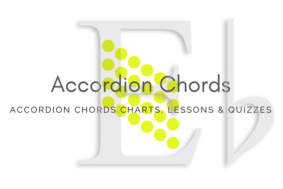 Root - All accordion chords in Eb key