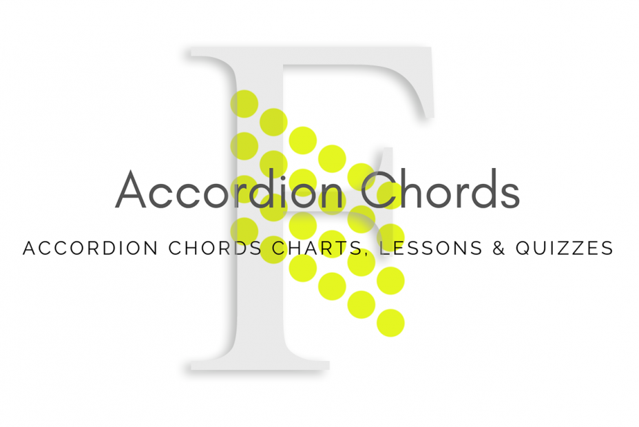 Root - All accordion chords in F key
