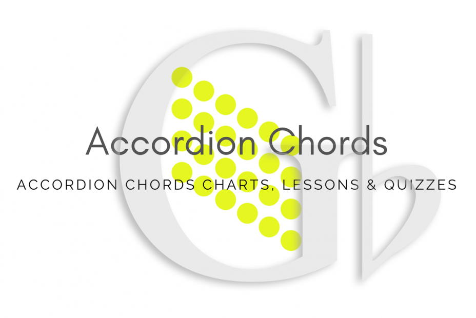Root - All accordion chords in Gb key