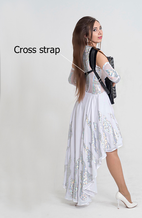 Accordion cross Strap