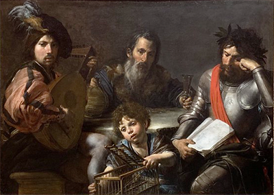 Valentine de Boulogne - The four ages of man